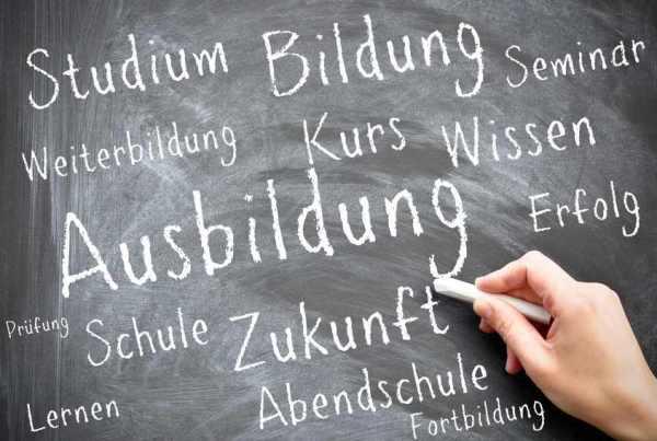 Rückgang der Ausbildungsplätze