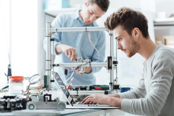 Forscher und Entwickler fast immer männlich