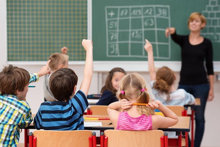 Entwicklung der Anzahl von Grundschüler/innen